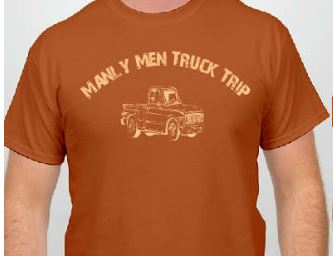 ManlyMenTshirt